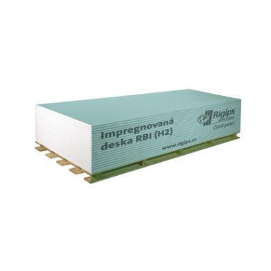 Sádrokartonová deska Rigips RBI 12,5x1250x2600 mm (3,25 m2)(100430)