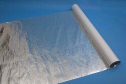 Jutafol N AL 170 /75m2/-SKLADEM, odběr již od jednoho balení. Fólie je určena pro vytvoření vysoceparotěsné vrstvy na vnitřní straně tepelných izolací. Parotěsná vrstva výrazně přispívá k dlouhodobé a správné funkci tepelných izolací.