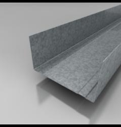 UW profil 100/4 m-Vodící profil stěnový ke konstrukci sádrokartonových příček v šířce 100 mm.